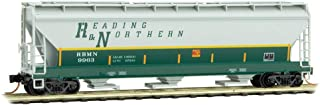 Micro-Trains MTL N-Scale 3-Bay Covered Hopper Reading and Northern/RBMN #9963