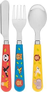 Lesser & Pavey LP43442A Little Stars Zoo Animal Cutlery Set
