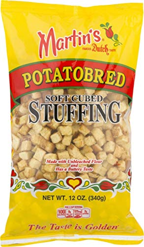 Martin's Potatobred Soft Cubed Stuffing- 12 oz (2 bags)
