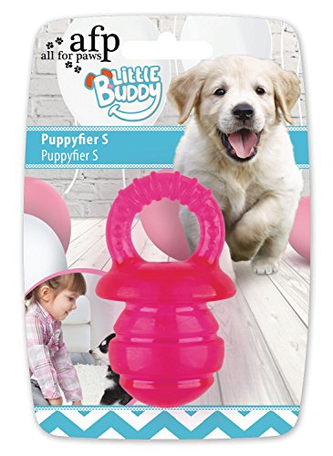 All For Paws (AFP) Little Buddy Puppyfier Jouet pour Chien Rose Taille L