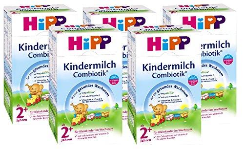 Hipp Kindermilch Combiotik 2+, ab dem 2. Jahr, 5er Pack (5 x 600g)