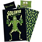 Rick and Morty Pickle Rick - Solenya Bettwäsche Allover