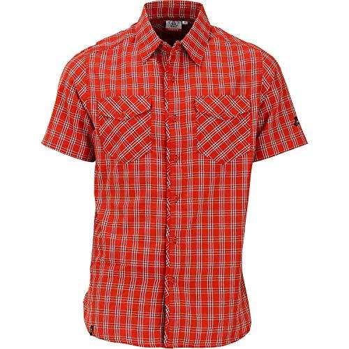 Maul Tranby 1/2 Hemd Karo Größe XL Rot (Red)