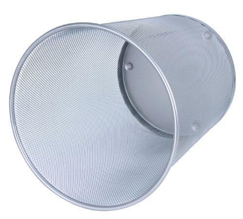 Wedo 65254 Papierkorb Office (18 l| Drahtmetall) silber | Büro > Papierkörbe | WEDO