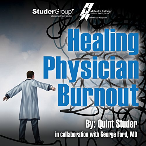 Healing Physician Burnout audiobook cover art