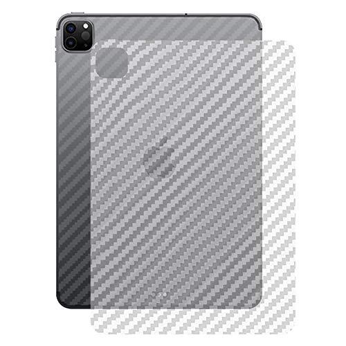 Miimall kompatibel mit iPad Pro 11 2020 Rückseite Schutzfolie, [Carbon Muster] Flexibel Ultradünn Kratzfest Anti Fingerabdruck Rückseite Folie für iPad Pro 11 2020