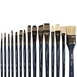 Best Oil Paint Brushes - Mont Marte Premium Paint Brush Set 15 Piece Review