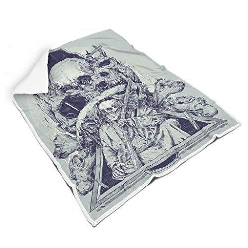 NC83 Vleermuisdeken met patroon, print van microvezel, groot plafond, verschrikkend, super gezellig, geschikt voor volwassenen
