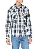 Levi's Barstow Western, Camisa Hombre, Wildcat Dress Blues, S