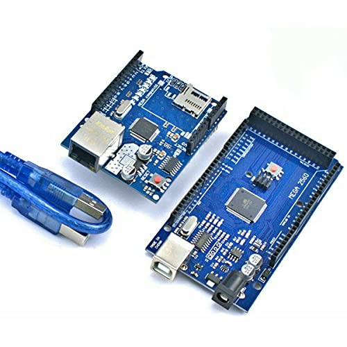 UMTMedia (für Arduino Mega 2560 - kompatibles Board) + W5100 Ethernet Shield Lan ATMega328