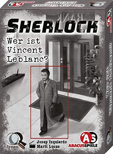 ABACUSSPIELE 48203 - Sherlock - Wer ist Vincent Leblanc?, Krimi Kartenspiel