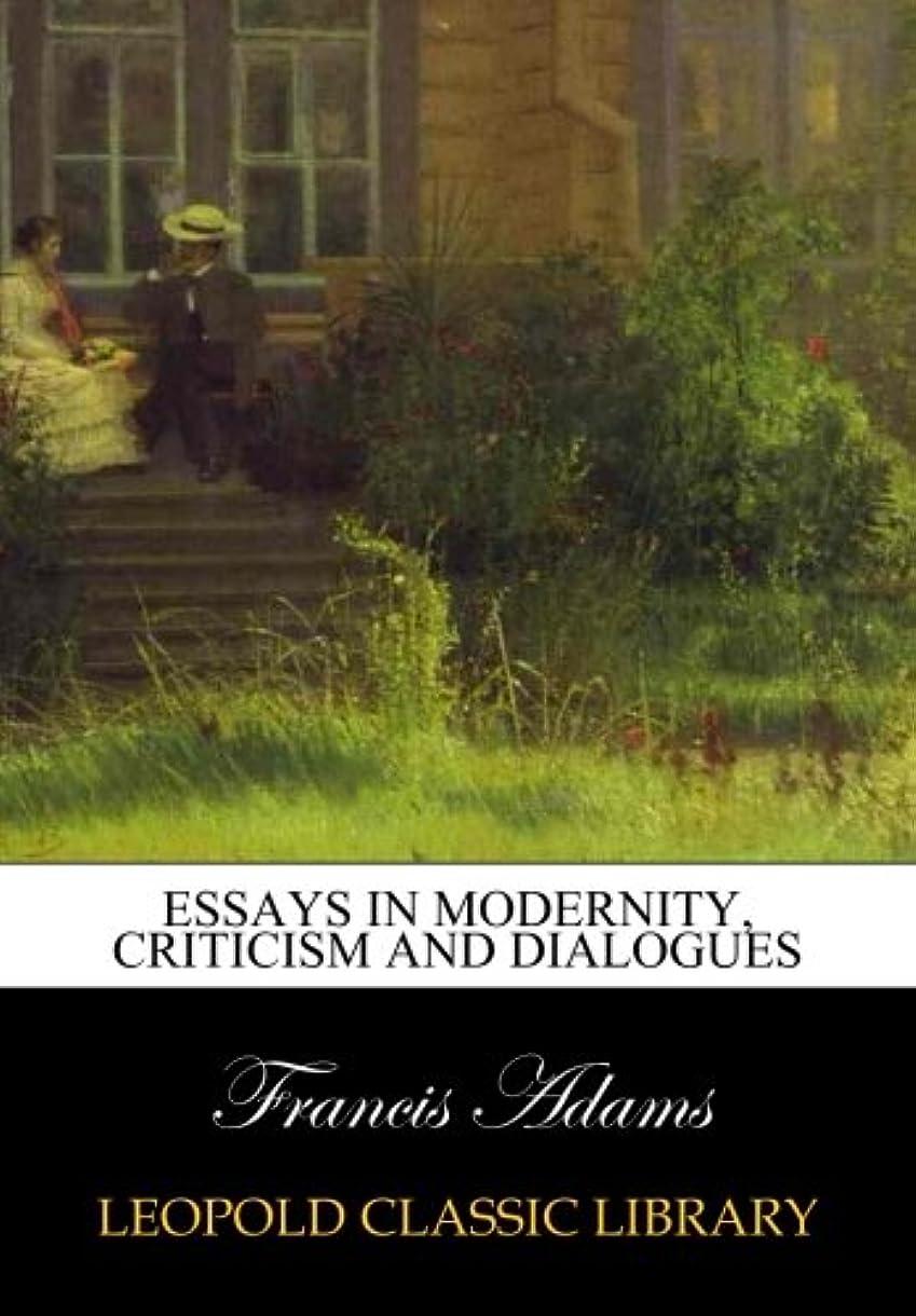 勝利特定の野生Essays in modernity, criticism and dialogues