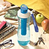 SNIPS Bottiglia in Tritan con Ghiaccio Stick Integrato 0,75 Lt REFRIGERATA Blu, Plastic...