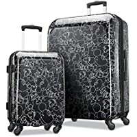 American Tourister Mickey Mouse 2 Piece Hardside Luggage Set ( Mickey Mouse Scribbler Multi-Face)