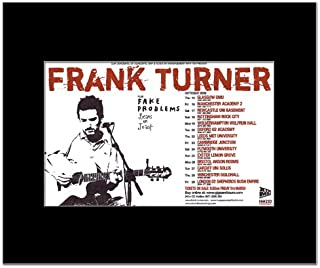 Music Ad World Frank Turner - UK Tour 2009 Mini Poster - 21x13.5cm