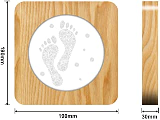 Footprint Design 3D LED Lámpara de noche de acrílico Lámpara de mesa Lámpara de talla para ns Room Decorate