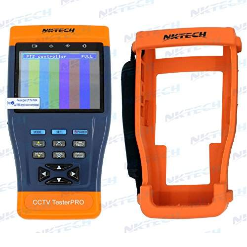 NKTECH ST893 3.5' Inch LCD Monitor CCTV Camera Video PTZ RS485 UTP Tester Meter for On-site Installation and Maintenance of Video Monitoring System