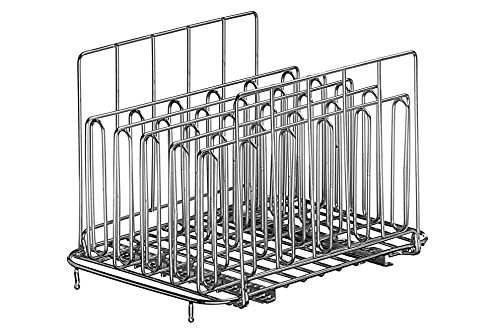 LIPAVI - Das Original Sous Vide Rack – verschiedene Größen erhältlich L15 - Family & Friends Size edelstahl