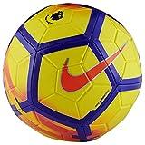 Nike Balón de fútbol Premier League, Color Amarillo, Morado y carmesí, 5