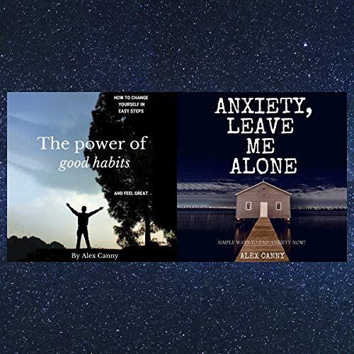 The Power of Good Habits & Anxiety, Leave Me Alone: Bundle cover art