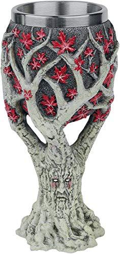 Game Of Thrones Weirwood Tree Goblet Unisex Kelch multicolor Polyresin Fan-Merch, TV-Serien