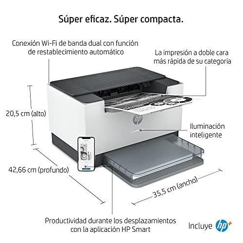 Impresora Monofunción HP LaserJet M209dwe - 6 meses de impresión Instant Ink con HP+