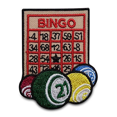 Finally Home Bingo getallen geluksspel patch om op te strijken | patches, strijkpatch, patches, patches, patches