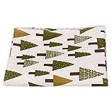 Weihnachten Muster Baumwolle Bunte Baumwollstoff Stoffpaket