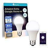 【+Style ORIGINAL】スマートLED電球 E26 (調光・調色) 昼白色 電球色 LED電球 60W 810lm スマート 調光 調色 ハブ ブリッジ不要 日本メーカー製 Amazon Alexa/Google Home 対応