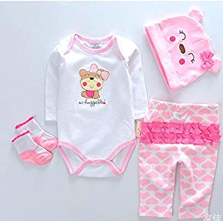 "NPK Reborn Baby Dolls Clothes Girl Pink Outfits for 20""- 22"" Reborn Doll Girl Clothing"
