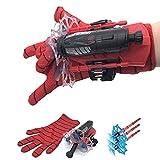 Hero Soft Rubber Bullets Jet Wrist Toy - Lanzador de Guantes Juguetes,Web Launcher Role Play Toy ,Hero Launcher Wrist Toys Set (1 Juego)