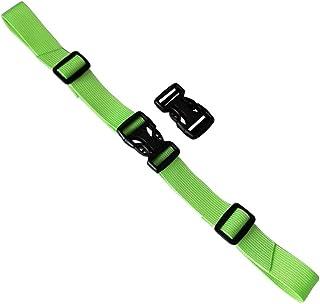 Practical Backpack Belt Buckle Belt Adjustable Non-Slip Belt-Green