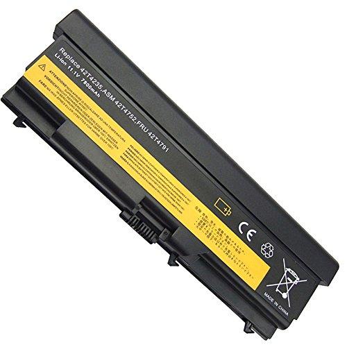 BTMKS 9 Zellen 7800mah Notebook Laptop Akku für Lenovo IBM Thinkpad Sl410 Sl410k Sl510 T410 T410i T420 T510 T510i T520 E40 E50 E420 E425 E520 E525 L410 L412 L420 L510 W510 42T4235 Batterie