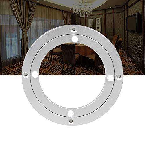 AMIGOB Drehscheibe Tischplatte Drehteller Kugellager Lazy Susan für Esstisch TV Monitor (Ø120x8mm)/4.7 inch aus Aluminiumleigierung