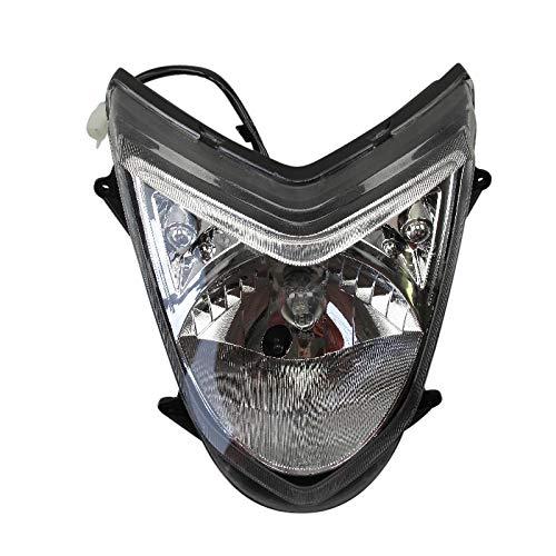 Scheinwerfer Frontscheinwerfer Hauptlicht Frontleuchte Euro 4 Sport Motorroller Roller Luxxon Znen Benero Burnout Casabike
