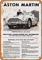 Aston Martin ティンサイン ポスター ン サイン プレート ブリキ看板 ホーム バーために