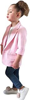 EITC Pink Blazer Long Sleeve Jacket for Toddler Kids Girl