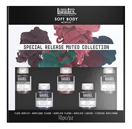 Liquitex Pinturas acrílicas, 5 Colores, Sets(Soft Body)