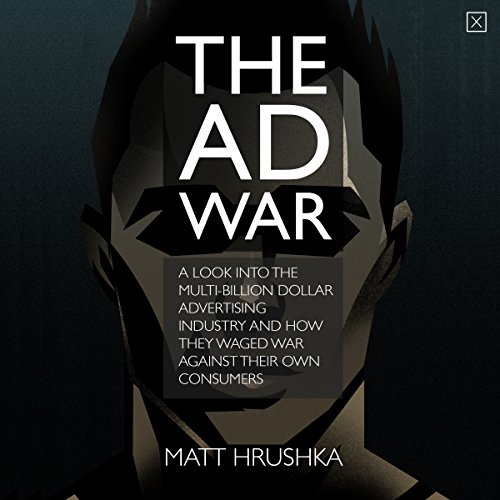 The Ad War audiobook cover art