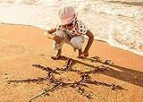 wqefftrw nuovo hd mood kid girl child sand beach sun sport vacanze estive 1000 puzzle puzzle educativo per bambini puzzle decompressione per adulti