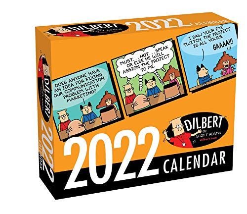 foreign language calendars Dilbert 2022 Day-to-Day Calendar