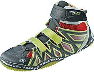 Brute JS25 Sun/Red/Silver Wrestling Shoes - 10.5