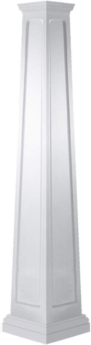 Choice Rapid rise Ekena Millwork CC2008ETMTUTU White Column