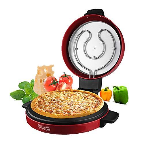 DSP Pizzaöfen, Pizza Express Pizzamaker Antihaft-Pfanne 1800W High Power Fixed Temperatur, MEHRWEG