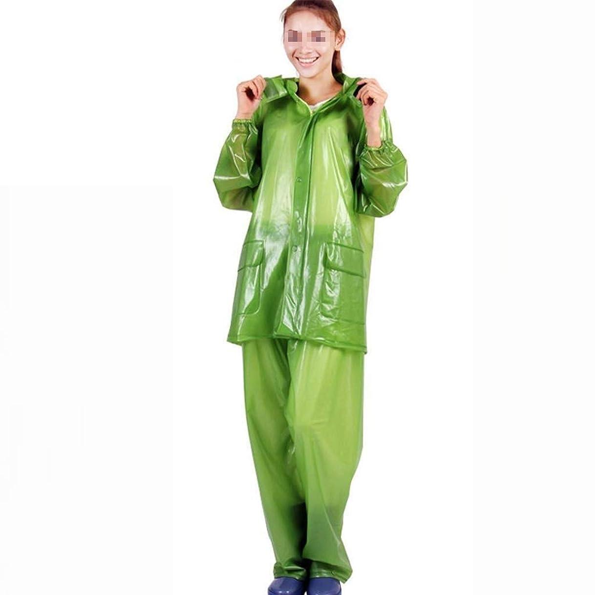 正しく大理石ワインTD レインコート大人のスーツフード付きポリ塩化ビニールエコフレンドリー素材防水ポケットデザインアウトドアレジャーの風フルーツ ポンチョ ハイキング (Size : Large)