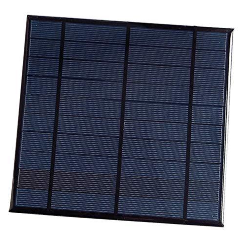 SM SunniMix Cargador de Panel Solar de Alta Eficiencia Potencia de Batería de Celda Solar - 165 x 165 mm
