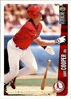 1996 Collector's Choice #286 Scott Cooper St. Louis Cardinals MLB Baseball Card