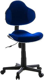 La Silla Española Gijón Silla de Oficina, Poliéster, Azul