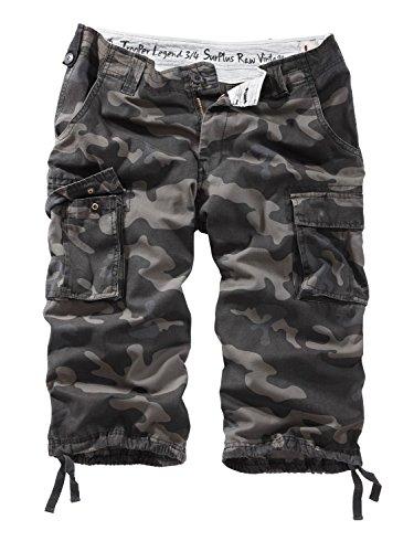 Surplus Trooper Legend 3/4 Shorts, Beige (Beige Gewaschen), Gr. M