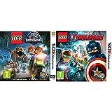 LEGO: Jurassic World + Vengadores - Edición Estándar - Nintendo 3DS